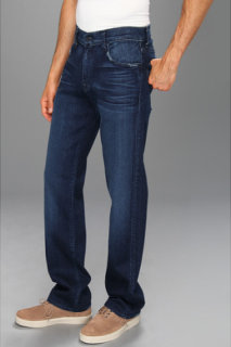 7 For All Mankind Austyn Relaxed Straight w/ Flynt Pkt in Authentic Indigo