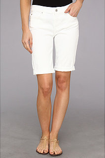 7 For All Mankind Bermuda Short in Clean White