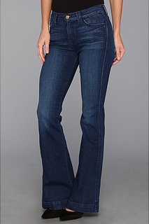 7 For All Mankind Biancha Wide Leg in Chateaux De Trope