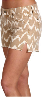 7 For All Mankind Carlie Cut-Off Short Ikat