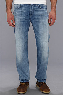 7 For All Mankind Carsen Easy Straight in Ivory Coast