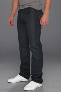 7 For All Mankind Carsen Modern Straight Leg in Cool Grey