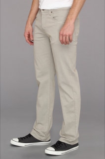 7 For All Mankind Carsen Modern Straight Sueded Twill in Wheat