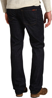 7 For All Mankind Carson Easy Straight Leg in Dark and Clean