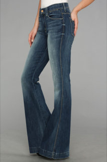 7 For All Mankind Clean Biancha Pant in Authentic Bright Blue