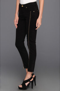 7 For All Mankind Cropped Skinny w/ Long Side Zips