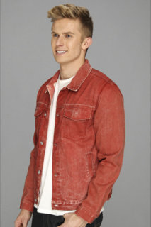 7 For All Mankind Ecru Selvage Jean Jacket