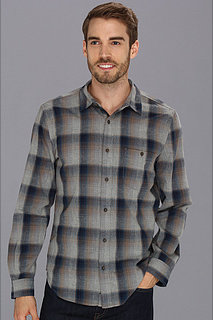 7 For All Mankind Heathered Plaid Shirt