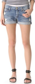 7 For All Mankind Josefina Roll Up Shorts