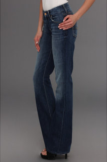 7 For All Mankind Kimmie Bootcut in Authentic Bright Blue