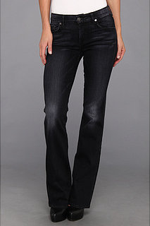 7 For All Mankind Kimmie Bootcut In Grey/Black