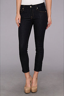 7 For All Mankind Kimmie Crop in Ink Rise