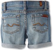 7 For All Mankind Mid-Roll Short in Light Destroyed