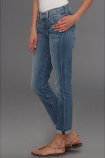7 For All Mankind Skinny Crop Roll in Summer Canyon Mountain