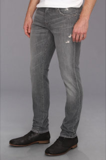 7 For All Mankind Paxtyn in Grey Distressed