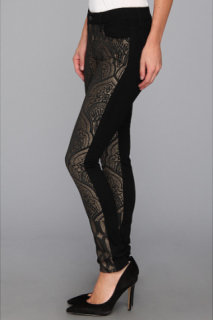 7 For All Mankind Pieced Skinny in Art Nouveau Jacquard
