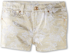 7 For All Mankind Short in White Gold