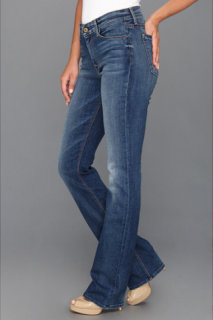 7 For All Mankind Skinny Bootcut in Destroyed Rue De Lille