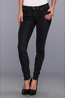7 For All Mankind Skinny in Overlay Laser