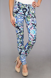 7 For All Mankind Skinny w/ Contour WB in Kaleidoscope Floral