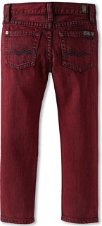 7 For All Mankind Slimmy Jean in Fisherman Red