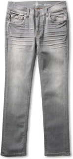 7 For All Mankind Slimmy Slim Straight in Grey