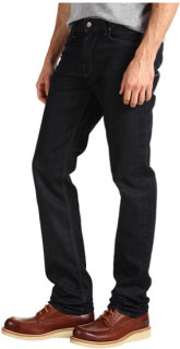 7 For All Mankind Slimmy Slim Straight w/ New Slimmy Squiggle in Chester Row