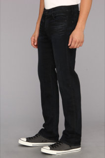 7 For All Mankind Standard Straight in Black Surface