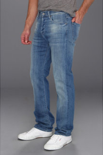 7 For All Mankind Standard Straight Leg in Washed Out