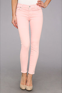 7 For All Mankind The Ankle Skinny in Blush Pink