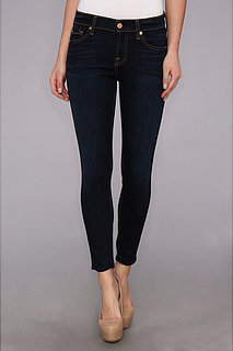 7 For All Mankind The Cropped Skinny in Slim Illusion Classic Dark Blue