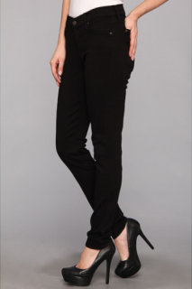 7 For All Mankind The Skinny 30 in Black/Black2