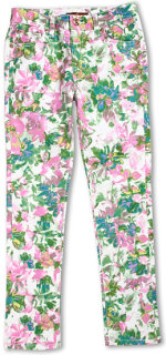 7 For All Mankind The Skinny in Kauai Floral