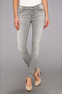 7 For All Mankind The Skinny in Slim Illusion Spring Grey