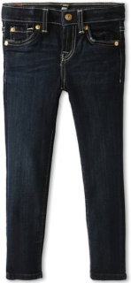 7 For All Mankind The Skinny Jean in Black Night
