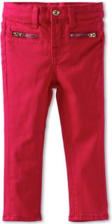 7 For All Mankind The Skinny Jean in Cerise