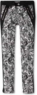 7 For All Mankind The Skinny Jean in Etched Floral