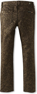 7 For All Mankind The Skinny Jean in Gold Leaf