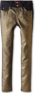 7 For All Mankind The Skinny Jean in Gold Tweed