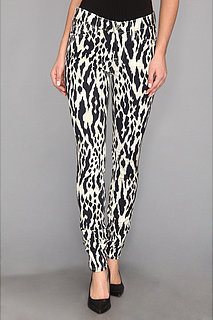 7 For All Mankind The Skinny w/ Contoured Waistband in Ikat Leopard