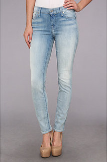 7 For All Mankind The Slim Cigarette in Sky Breeze Blue