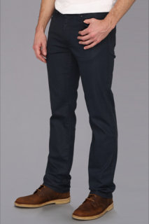 7 For All Mankind The Slimmy Coated in Petrol Blue