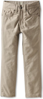 7 For All Mankind The Straight Pant in Mushroom