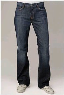 7 For All Mankind Bootcut New York Dark Wash Jeans