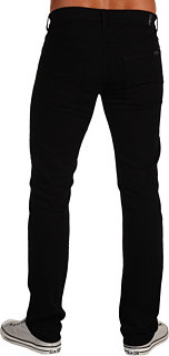 7 For All Mankind Slimmy Slim Straight in Black Out