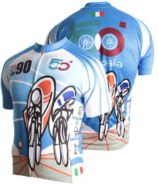 83 SportsWear Italy Cycling Jersey