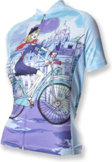 83 SportsWear Riding in Paris Bike Jersey