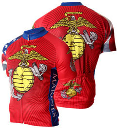 83 SportsWear US Marine Corps Cycling Jersey