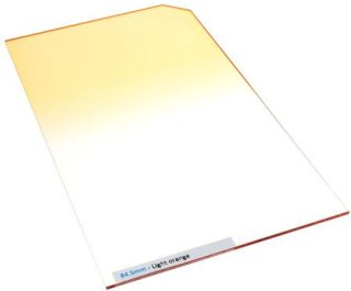 84.5mm Professional Light Orange Graduated Color Filter
