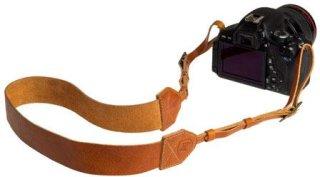 "A7 Morgan Leather Camera Strap 42-52"" Length Tan"